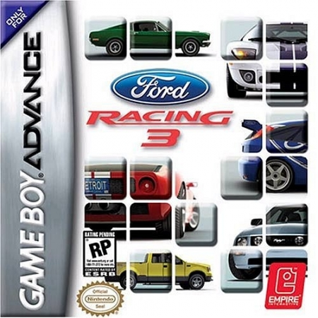 Ford Racing 3 - Ohne Anleitung und Verpackung