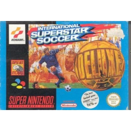 International Superstar Soccer Deluxe - Ohne OVP - Modul beschäd