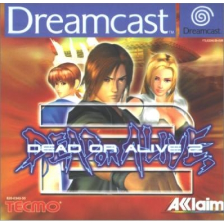 Dead or Alive 2 - Hülle defekt